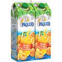 Paquito Nectar orange, abricot et pêche les 2 briques de 2l