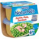 Nestlé Nestlé Naturnes Petits pois jambon, dès 6 mois