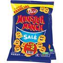 Vico Monster Munch - Petits monstres salés le lot de 2 sachets de 135 g