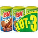 BN Biscuits riche en céréales P'tit Dej nappés de choco... les 3 paquets de 200 g