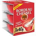 Bordeau Chesnel Rillettes pur porc les 3 pots de 40 g