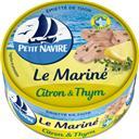 Petit Navire Emietté de thon Le Mariné citron & thym