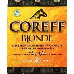 Bière blonde de fermentation haute