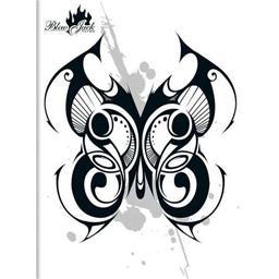 Cahier piqure 24x32 cm seyes papier velin surfin 80 Gr couverture polypropylène opaque - 96 pages