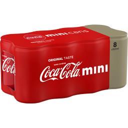 Mini soda au cola sans caféine