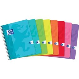 Cahier intégrale 170x220 90 g Q5/5 coloris assortis