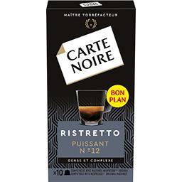 Capsules de café moulu Espresso Ristretto n°12