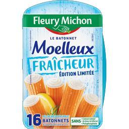 Fleury Michon Préparation à base de chair de poisson la boite de 256 g