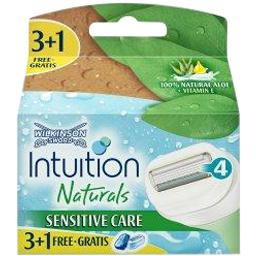 Intuition - Lames rasoir Natural Sensitive Care