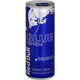 Boisson énergisante The Blue Edition goût myrtille