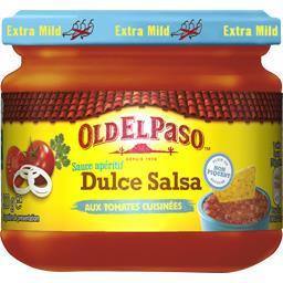 Sauce apéritif Dulce Salsa aux tomates cuisinées sans piment