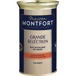 Montfort Bloc de foie gras de canard Sauternes et poivre Timu... le bloc de 330 g