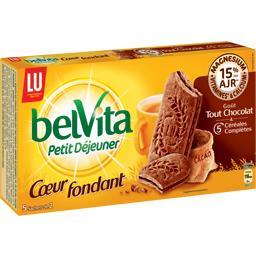 Belvita - Biscuits céréales cœur fondant goût tout chocolat
