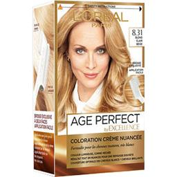 Excellence Age Perfect - Coloration blond clair beige 8.31