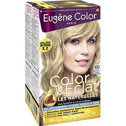 Les Naturelles, Crème colorante blond très très clair, super