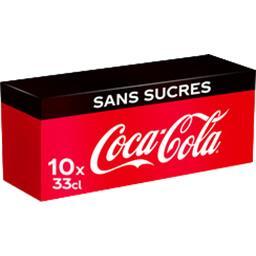 Zero - Soda au cola Zéro calorie Frigo Pack