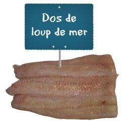 Filet de LOUP DE MER La portion à la demande à partir de 500gr