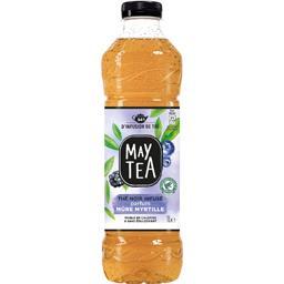 May Tea Thé infusé glacé thé noir parfum mûre myrtille la bouteille de 1 l