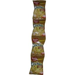 Bouton d'Or Biscuits apéritif Cricfie's cacahuète les 4 sachets de 90 g