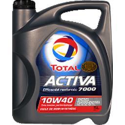 Huile Activa 7000 10W40 Diesel Turbo-Diesel