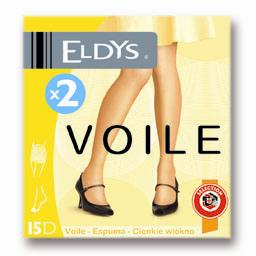 Collant voile résistant naturel 15d - t3