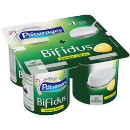 Lait fermenté Bifidus saveur citron