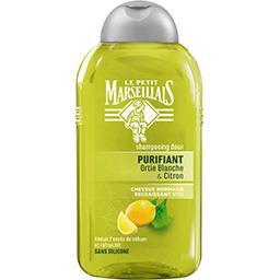 Shampooing doux Purifiant ortie blanche & citron