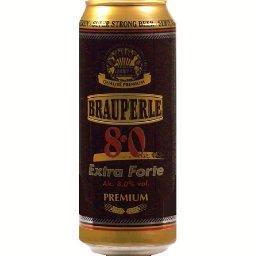 Brauperle Bière premium super strong