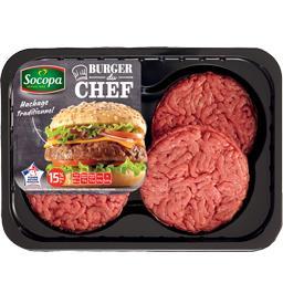 Burger du Chef nature 15%