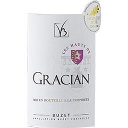 Buzet Les Hauts de Gracian vin Rouge 2016