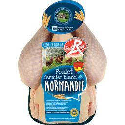 Poulet fermier de Normandie blanc Label Rouge