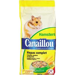 Repas complet pour hamster