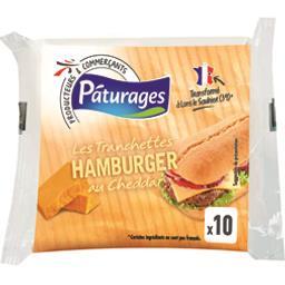 Les Tranchettes Hamburger au Cheddar