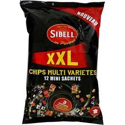 Chips multi variétés 3 saveurs