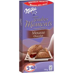 Chocolat tendre moment mousse chocolat