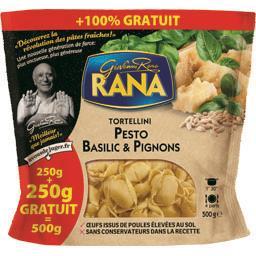 Giovanni Rana Tortellini pesto basilic & pignons