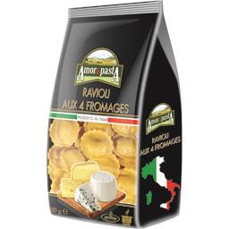 Amor di Pasta Ravioli aux 4 fromages le paquet de 500 g