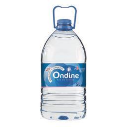 Eau de source naturelle Ondine,INTERMARCHE,Le bidon de 5 L