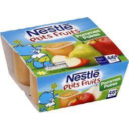 P'tits Fruits - Desserts pommes poires, 4/6+ mois