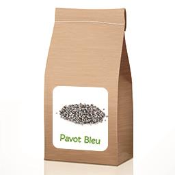 Graines de pavot bleu BIO en VRAC