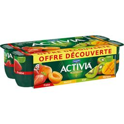 Yaourts aux fruits assortiment Activia
