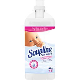 Soupline Adoucissant concentré hypoallergénique lait d'amande...
