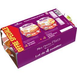 promo - pommette ecrasé pommes de terre jambon pointe de crème, dès 18 mois les 4 assiettes de 260 gr