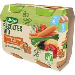 Les Récoltes BIO - Légumes du soleil bœuf BIO, dès 6...