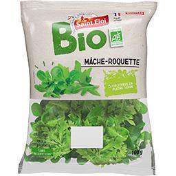 Bio Saint Eloi Salade mâche-roquette BIO le sachet de 100 g
