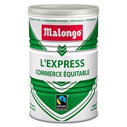 Café moulu L'Express pur arabica