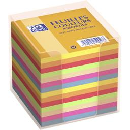 Bloc cube 90x90 90 g assorti