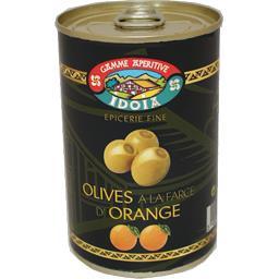 Olives à la farce d'orange