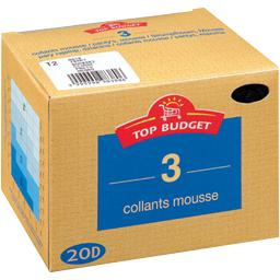 Collants mousse - 20D - daim T2