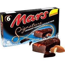 Barres glacées Signature chocolat noir